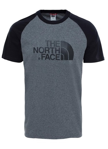 The North Face Erkek Tişört Raglan Easy Nf0A37Fvjbv1 Gri